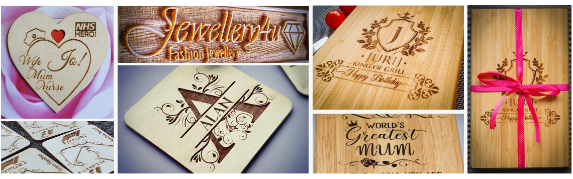 Personalised laser engraved  gifts